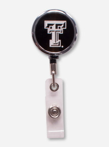 Texas Tech Double T Retractable ID Badge Holder