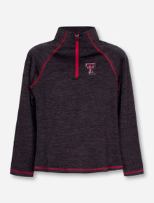 "Arena Texas Tech ""Vertigo"" YOUTH GIRL'S Quarter Zip Pullover"