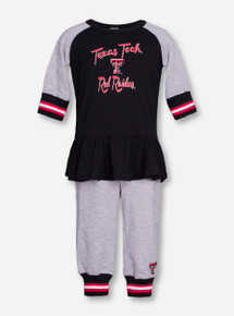 "Arena Texas Tech ""Team Spirit"" INFANT Long Sleeve and Pants Set"