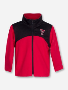 "Arena Texas Tech ""Sleet"" TODDLER Full Zip Jacket"