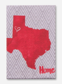 Texas Tech Home Magnet