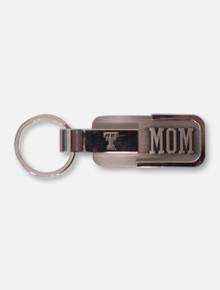 Texas Tech Mom Engraved Metal Key Chain