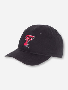The Game Texas Tech Double T on INFANT Black Stretch Fit Cap