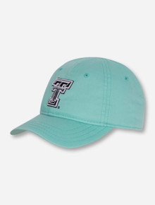 The Game Texas Tech Black and White Double T TOODLER Mint Adjustable Cap