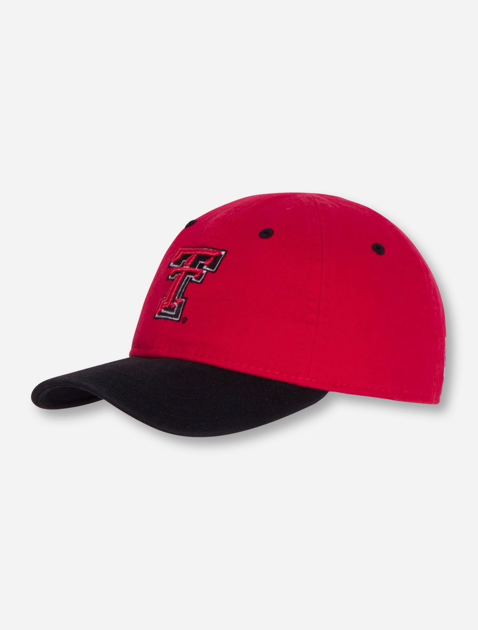 The Game Texas Tech Double T on TODDLER Red and Black Adjustable Cap ... 22e1309a397