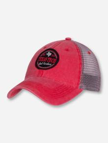 "Legacy Texa Tech ""Dashboard"" Trucker Red Mesh Cap"
