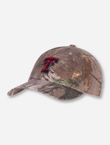 "47 Brand Texas Tech ""Clean Up"" RealTree Camo YOUTH Adjustable Cap"