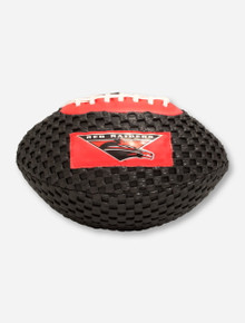 Masked Rider on Junior Sized Black Foam Football