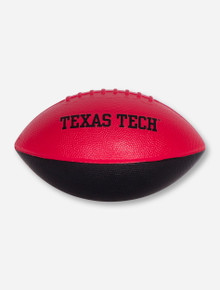 Texas Tech Red and Black Foam Football
