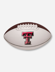 Nike Texas Tech Regulation Duo-Tone Brown & White Football