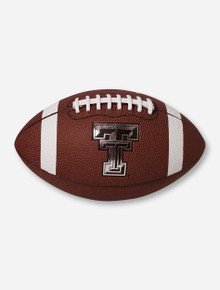 Nike Texas Tech Regulation Spiral-Tech Brown Football