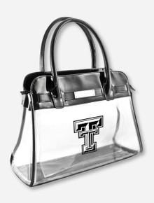 """Texas Tech Double T on Clear """"Chloe"""" Handbag"""
