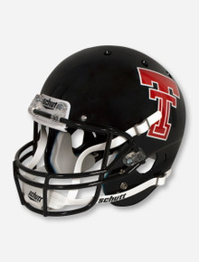 Schutt Texas Tech '93 - '99 Throwback Zach Thomas Black Replica Helmet