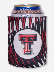 Texas Tech Double T Paint Stroke Koozie