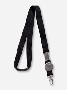 Heritage Pewter Texas Tech Black Lanyard