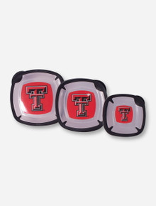 Texas Tech Set of 3 Plastic Food Containers