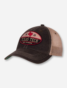 Legacy Texas Tech Lone Star State on Brown Trucker Snapback