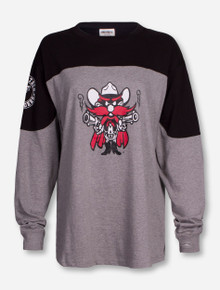 """Pressbox Texas Tech """"Cannon"""" Grey and Black Sweeper"""