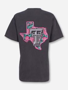 Texas Tech Floral Pride T-shirt