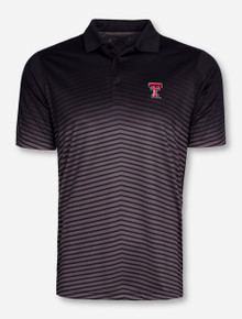 "Antigua Texas Tech ""Finesse"" Black Polo"
