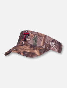 "Top of the World Texas Tech ""Extra"" Camo Visor"