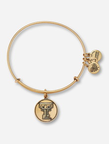 Alex & Ani Texas Tech Rafaelian Gold Bangle