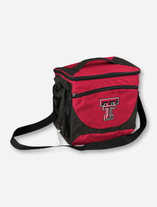 Logo Texas Tech 24 Can Capacity Red Cooler