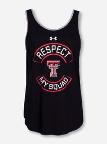 "Under Armour Texas Tech ""Respect"" Women's Black Tank Top"