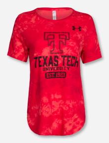 "Under Armour Texas Tech ""Pom Squad"" Tie Dye T-Shirt"