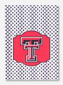 Texas Tech Double T Gingham House Flag