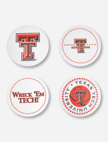 Texas Tech Old School Coasters