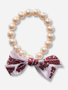 Texas Tech Red Raiders Pearl Bracelet