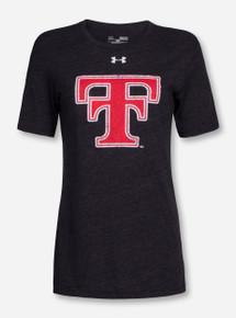 Under Armour Texas Tech Women's Throwback Tri-Blend T-Shirt