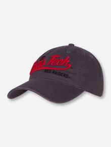 """Legacy Texas Tech """"Plotter"""" Grey Adjustable Cap"""