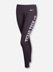 Nike Texas Tech Tailgate Legasee Leggings