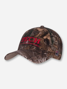 The Game Texas Tech Bar Camo Stretch Fit Cap