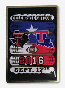 Texas Tech Cotton Game 2016 Collector's Pin