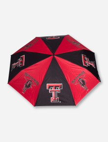 Texas Tech Double T and Masked Rider Umbrella