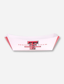 Texas Tech BBQ Paper Food Tray Pack