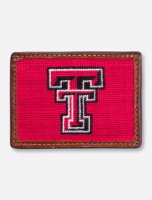 Texas Tech Needle Point ID Holder