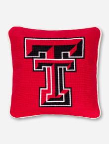 Texas Tech Needle Point Pillow