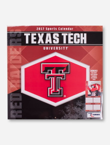 Texas Tech Red Raiders 2017 Calendar