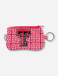 Texas Tech Double T Maze Coin Purse
