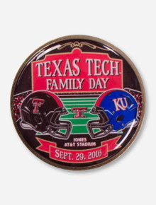 Texas Tech 2016 Family Game Day Collector's Pin