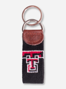 Texas Tech Needle Point Key Fob