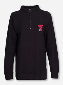 "Pressbox Texas Tech ""Comfy Terry"" Quarter Zip Pullover"