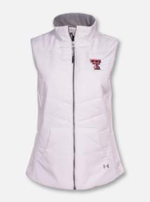 "Under Armour Texas Tech ""Shifter"" White Puffer Vest"