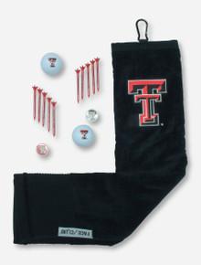 Texas Tech Towel, Balls, Tees & Ball Markers Gift Set