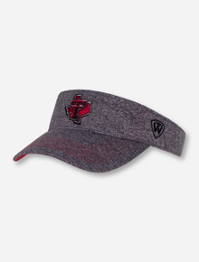 "Top of the World Texas Tech ""Steam"" Lone Star Pride Visor"