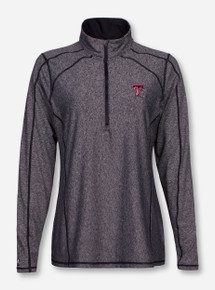 "Antigua Texas Tech ""Tempo"" Half Zip Pullover"